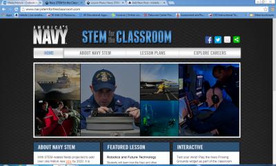navy stem